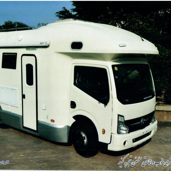 کامیونت کاروان کاریزان مدل K1051