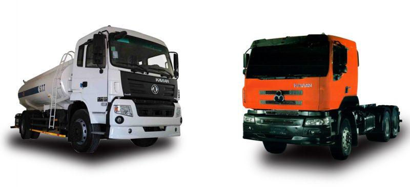 فروش اقساطی کامیون کمپرسی K375d و k219cn