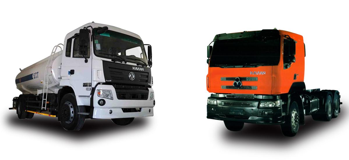 فروش اقساطی کمپرسی K375D و کمپرسی K219CN